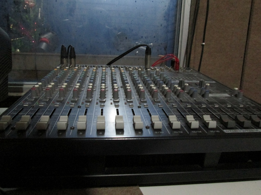 Mixxer ruang rekaman