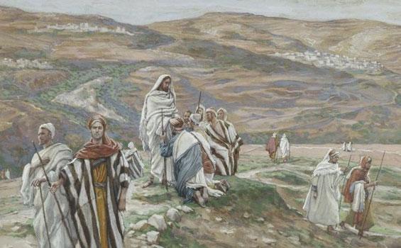 Yesus-mengutus-kedua-belas-rasul