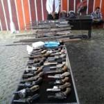 40 Pucuk Senjata Api Rakitan Dimusnahkan Polda Lampung