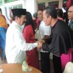 Uskup Lampung Lakukan Safari Lebaran