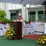 Uskup Keuskupan Agung Palembang Buka Tanjung Karang Youth Day 2015