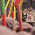 Gubernur M Ridho Ficardo Pimpin Apel Peringatan Hari Pramuka di Lampung