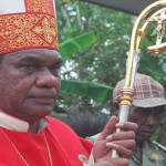 Uskup Timika Kecam Penembakan Aparat TNI di Gereja