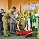 Musprov X KONI Lampung Tahun 2015 Resmi dibuka Gubernur