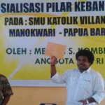 Sosialisasi Empat Pilar Negara Indonesia Bagi Generasi Muda Papua