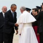 Presiden Obama Sambut Paus Fransiskus di Washington DC