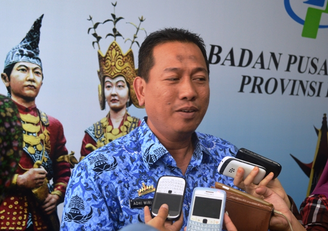 Kepala BPS Lampung, Adhi Wiriana.
