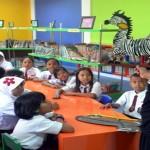 Kakek Boncel Tampil Pada Puncak Peringatan Hari Kunjung Perpustakaan Se-Provinsi Lampung