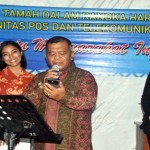 Ini dia suasana Malam Puncak Peringatan Hari Bakti Postel ke-70 di Lampung