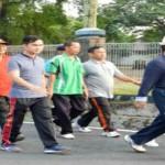 Ratusan PNS Lingkungan Pemerintah Provinsi Lampung Ikuti Jalan Sehat