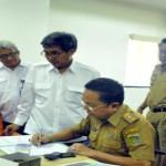 Pemprov Terima Dokumen Perencanaan Pengadaan Tanah Daerah Irigasi Jabung, Lampung Timur