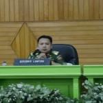 Gubernur Mengajak Kepala SKPD di Lampung Unruk Menghilangkan Ego Sektoral