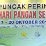 Lampung Perkenalkan Beras Siger Pada Puncak Hari Pangan Sedunia di Palembang