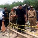 Komis IV DPRD Lampung Tinjau Jalan Ir. Sutami Sribawono Lampung Timur