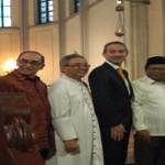 Menlu Denmark Puji Kerukunan Umat Beragama di Indonesia