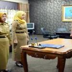 Sekda Lantik Kepala Badan Pengelolaan Perpustakaan, Arsip, dan Dokumentasi Daerah Provinsi Lampung