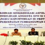 Anang Prihantoro dan Anggota DPD RI asal Lampung lainnya Serap Aspirasi Pemangku Kepentingan Daerah