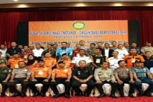 Basarnas mempersiapkan kesiapsiagaan seluruh stake holder bidang SAR di Lampung 2