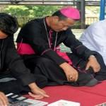 Mgr. Yohanes Harun Yuwono Hadiri Doa Bersama Lintas Agama