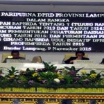 DPRD Provinsi Lampung Sahkan Tujuh Perda