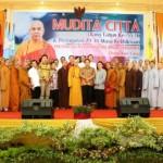 Gubernur Harap Umat Budha Mendukung Pembangunan di Lampung