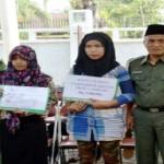 Pelaku Usaha Kecil, Pelajar dan Guru Honorer di Lampung Dapat Bantuan dari Baznas