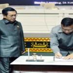 APBD 2016 Provinsi Lampung Disahkan