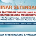 Songsong Masyarakat Ekonomi ASEAN (MEA) bersama Agung Adiprasetyo dan Winoto Doeriat