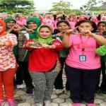 Istri Gubernur Lampung Lakukan Bhakti Sosial ke Lapas Way Hui