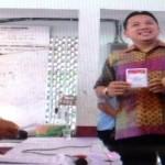 Gubernur Lampung Mencoblos di TPS 07 Sumur Batu Teluk Betung Utara