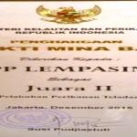 Pelabuhan Perikanan Pantai Lempasing Lampung Menjadi Pelabuhan Perikanan Teladan Ke-II Tingkat Nasional Tahun 2015
