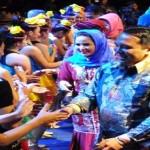 Lampung Gelar Pertunjukan Pentas Pelangi Seni Budaya