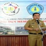 Gubernur Lampung Kukuhkan IKA-POLINELA Periode 2015-2018