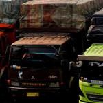 Pengusaha Truk Lampung Tetap Beoperasi
