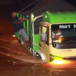 Direktur PDAM Pringsewu Tinjau Lokasi Banjir