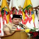 Gubernur Sampaikan Kesiapan Lampung Sebagai Tuan Rumah Jambore Nasional Penggalang