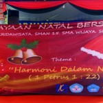 SMK Kridawisata Bandar Lampung tuan rumah Perayaan Natal Bersama empat sekolah