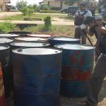 Korem Gatam Serahkan 30 Ton Minyak Ilegal ke Polisi