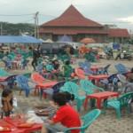 Pedagang di PKOR Diminta Kosongkan Lokasi