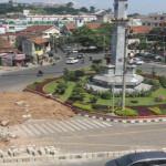 Perubahan Jalur di Jalan Kartini