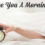 Langkah Mudah Jadi Morning Person