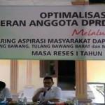 Ketua DPRD Lampung Jaring Aspirasi Lewat Reses