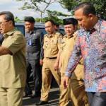 Gubernur Lampung dampingi Ketua MPR RI Kunjungi SMA Kebangsaan di Lampung Selatan