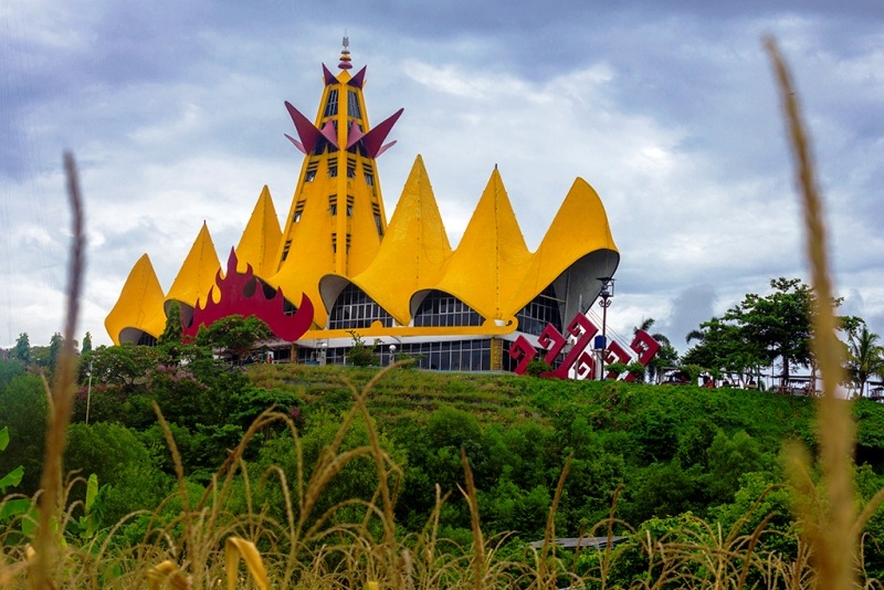 Salah satu Ikon kebanggaan masyarakat Lampung, Menara Siger.