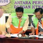 Tingkatkan sektor pertanian, Perum BULOG Divre Lampung lakukan kerjasama dengan KTNA se-Provinsi Lampung