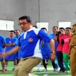 Kejuaraan volleyball dan futsal warnai rangkaian HUT Provinsi Lampung ke-52