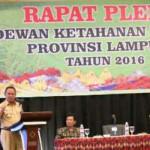 Wakil Gubernur Lampung buka Pleno Dewan Ketahanan Pangan Provinsi Lampung