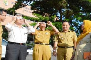 Provinsi Lampung Akan Mengalami Gerhana Sebagian 2