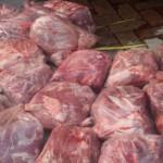 2 Ton Daging Babi Ilegal Gagal Menyeberang ke Banten