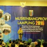 Menteri Dalam Negeri Tjahjo Kumolo hadiri Musrenbang Tingkat Provinsi Lampung